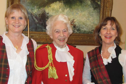 Janine and Susan with Ottawa's esteemed Grete Hale
